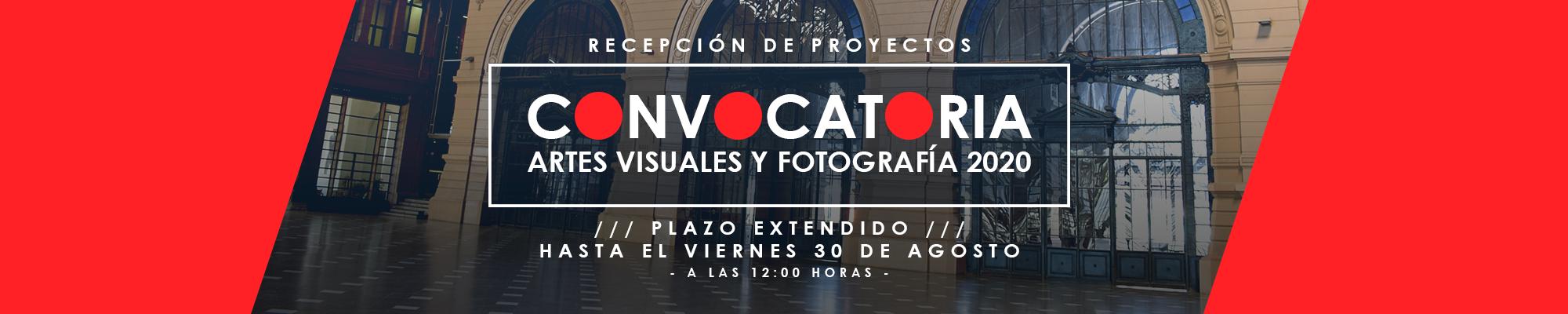 Convocatoria Fotografía y Artes Visuales 2020