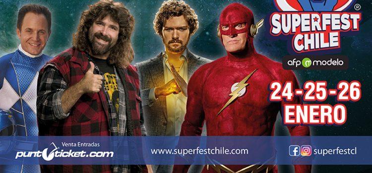 Con nueva fecha confirmada y una potente sorpresa, el estreno de Superfest Chile se prende cada vez más