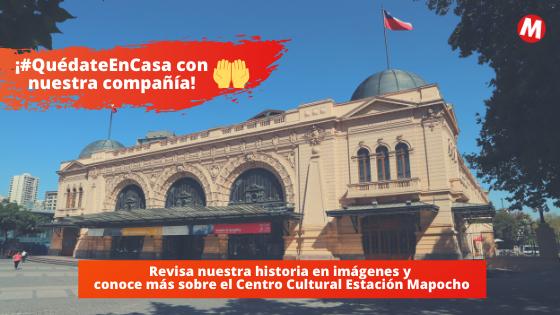 En esta cuarentena, sigue la #HuellaEstacionMapocho
