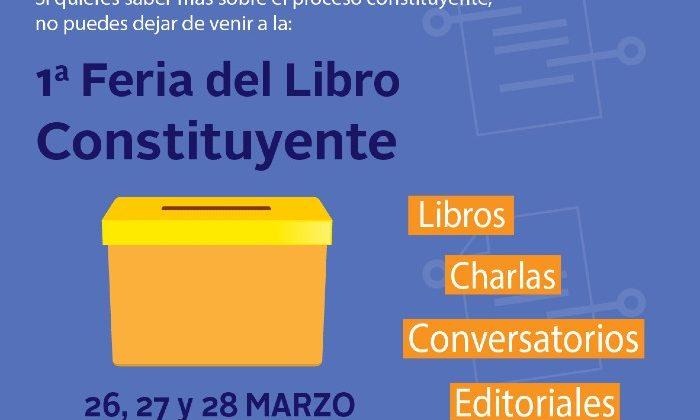 Ante las medidas sanitarias a nivel nacional, se suspende la Feria del Libro Constituyente