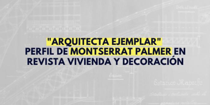 Montserrat Palmer y su participación en la remodelación de Estación Mapocho